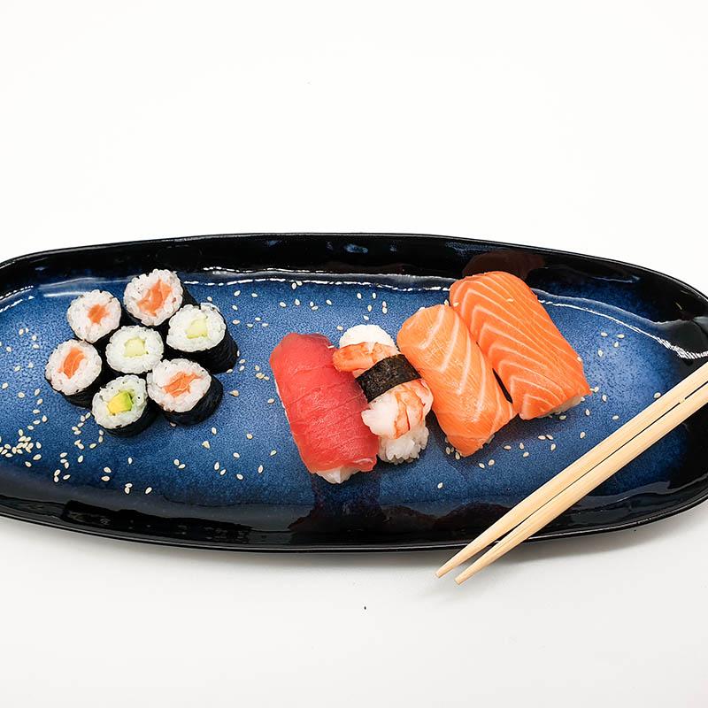 Freitag ist Sushi-Tag im Werksverkauf der Lachsräucherei Fuchs!
