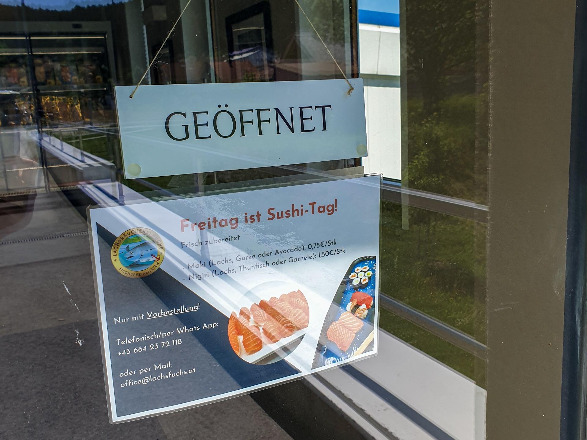 Werksverkauf am Freitag, 04.06 GEÖFFNET